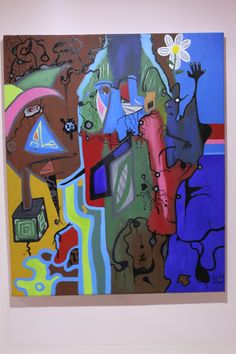 ARLEQUINES. Oleo sobre lienzo. 60x50cm.  by Ivan Lopez Lopez