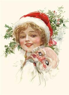 Masquerade (Pkg Of 15 Holiday Cards) from Victorian Trading Co.