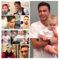So many faces of Joey and every single one of them is so stinkin' cute!!!!