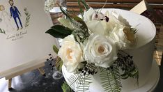 Sydney wedding in Blackburn Gardens and Chiswick restaurant. Delicate, soft flowers, ferns, cream, pale blue and a hint of peach Sydney Wedding, Delicate, Peach, Autumn, Table Decorations, Flowers, Home Decor, Decoration Home, Fall Season