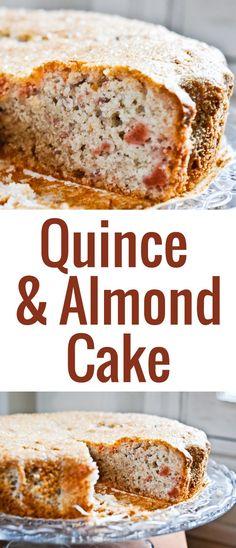 Une recette très simple pour un gâteau aux coings moelleux et parfumé, avec de la poudre d'amande pour un résultat particulièrement fondant.