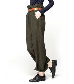 Front Row Shop High-Rise Straight Trousers // #Shopping