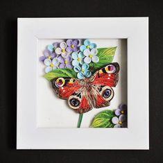 #dagpauwoog #butterfly #quillingart #quillingpaper #tranhobao