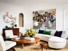 Inside+Fashion+Editor+Giovanna+Battaglia's+Stockholm+Apartment+via+@MyDomaineAU
