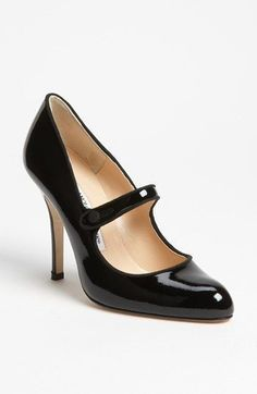 Manolo Blahnik 'Campy' Pump available at #Nordstrom Can be yours for just $685... or I could go on a cruise! #manoloblahnikshoes #manoloblahnikmaryjanes