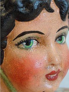 Hophopjingleboo blog - vintage doll face