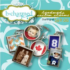 bcharmed Handmade Custom Soldered Charms - Get yours today at www.bcharmed.com