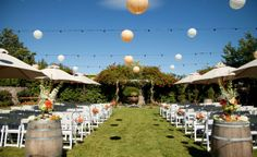 Napa Wedding Trend: Wine Barrel Wedding Decor — The Borrowed & Blue Blog