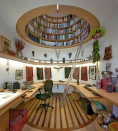 I want this to be my office/library!
