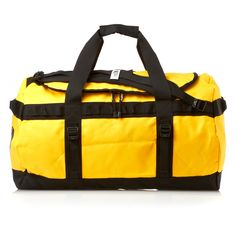 The North Face Base Camp Duffle 72L Bag - TNF Yellow/Black