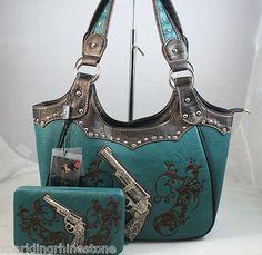 DG Sunglasses Western Montana West Concealed Handgun Handbag Purse Wallet $150 | eBay