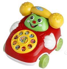 Baby Toys Music Cartoon Phone Educational Developmental Kids Toy Gift New (2016)