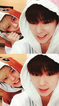 aw kihyun and minhyuk