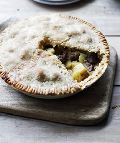 A great, no-nonsense pie recipe that's all the better for it. Use chuck steak (AKA braising steak), which has lots of flavour