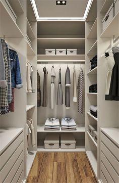 Walking closet, small walk in closet ideas, simple closet, simple wardrobe, Walk In Closet Design, Bedroom Closet Design, Master Bedroom Closet, Closet Designs, Master Bedrooms, Small Walk In Closet Ideas, Bedroom Inspo, Bedroom Ideas, Bedroom Wardrobe