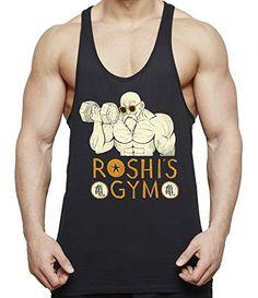 THE LION Roshi Goku Vegeta Zoro Ace Freezer Gym Camiseta de tirantes para hombre One Dragon Master Piece Son Ball Turtle Db, Colour:Roshi;Größe2:M #camiseta #starwars #marvel #gift