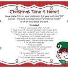 *** Best seller!! *** and on sale!  Classroom Elf activities and tons of fun!  This is my students' FAVORITE Christmas activity (mine, too)!    ***Note: Both color graphics (pages 1-46) and black and white graphics (pages 46-90) are provided in this set.