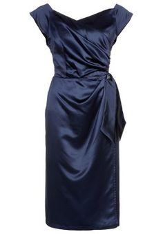 dc5a3ed94cf Bombshell by Katya Wildman BOMBSHELL - Cocktailkleid   festliches Kleid -  navy silk satin