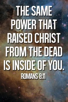 """All those who put their faith in Jesus Christ are immediately and permanently indwelt by the Holy Spirit (Romans 8:11). His power leads us, convicts us, teaches us, and equips us to do His work and spread the gospel. And the same resurrection power of Jesus raised from the dead is inside of every believer. Read more """"What is the power of the Holy Spirit?"""" http://www.gotquestions.org/power-Holy-Spirit.html"""