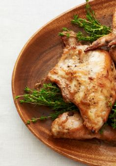 Date Glazed Roast Chicken  A really easy chicken recipe.