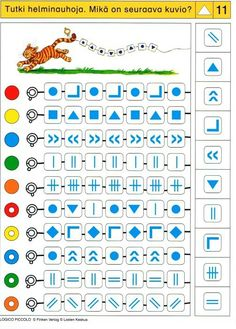 (2016-10) Grafiske symboler Toddler Activities, Preschool Activities, Numicon, Sequencing Cards, Math Patterns, Logic Games, Busy Boxes, Autism Classroom, Kids Education