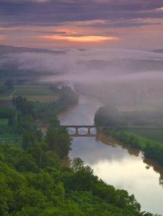 Dordogne River, Aquitaine, France