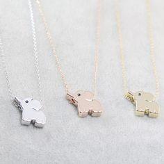 Paris Elephant Necklace (FreeShip) - The Wild Flower Shop Elephant Necklace Silver, Elephant Jewelry, Dolphin Jewelry, Diamond Pendant Necklace, Crystal Necklace, Diamond Necklaces, Gold Necklaces, Diamond Jewelry, Diamond Choker