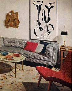 Ready for more eye candy inspiration? Straight from the Bible of mid-century modern decor (just kidding…), these images are from the 1956 Better Homes and Garden, and if you crave more, view this flickr set.