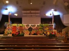 VBS Set at East Side Church of God, Anderson, IN