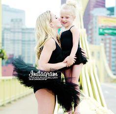 Chloe & her little sis Clara ( cute as...)