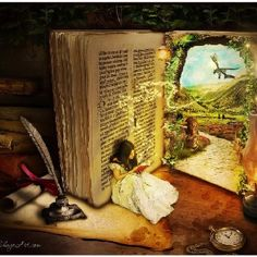 Open a book you don't have idea about the   millions of worlds that they hide