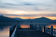 As I was driving West on the highway Thursday late afternoon, the sky above the lake and mountain chain in the South simply looked spectacular. Sunset Lake, Carnival, Sky, Posts, Seasons, Winter, Blog, Travel, Outdoor