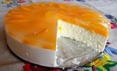 Beste Kuchen: Quarkkuchen ohne Eier und ohne Backen Best cakes: Quark cake without eggs and without baking Easy Cheesecake Recipes, Easy Cake Recipes, Sweet Recipes, Dessert Recipes, Quark Recipes, Simple Recipes, Summer Desserts, No Bake Desserts, Delicious Desserts