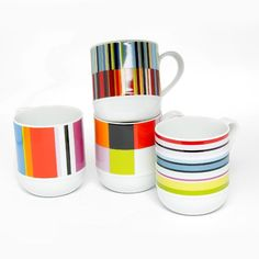 These lovely mugs were designed by Stefanie Keppler and Ingo Fremer at Remember. They have done it again - their designs are beautiful as ever. We think they will make a perfect wedding or engagement gift, do you agree?
