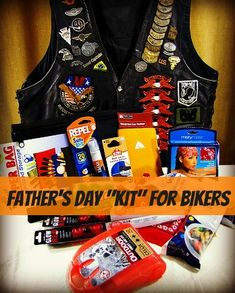 Why not DIY and make a Father's Day Kit for Dad's bike? Stop into Wilkins and grab some bike wash and chrome shine, then throw in some other great finds!