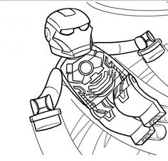 Coolest Iron Man Coloring Pages Online
