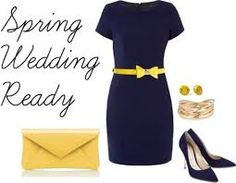 Tons of examples for what to wear to spring wedding