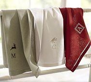 Monogrammed Towels, Monogram Towels & Monogrammed Robes   Pottery Barn