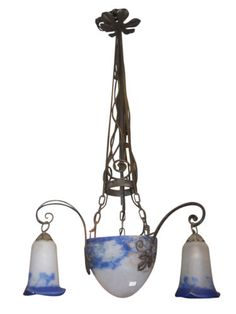 Muller-Freres-Attr-French-Art-Deco-Wrought-Iron-and-Glass-Chandelier