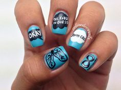 Imagen de nails, the fault in our stars, and tfios