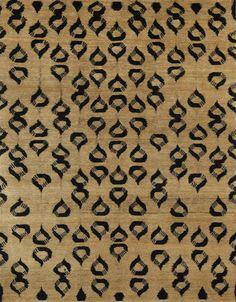 Makeda Rug in Silk and Hemp