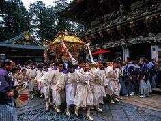 "natgeo: ""Photograph by Michael Yamashita. The Nikko Toshogu Shrine - Grand Spring Festival climaxes with  a procession of 1000 samurai following 3 mikoshi (portable shrines) honoring the spirits of the 3 Tokugawas the last Shoguns of feudal Japan. For more on Japan please see @yamashitaphoto  #Nikko #tochigi #worldheritage #japan #shogun #samurai #Toshogushrine @natgeocreative @thephotosociety"""