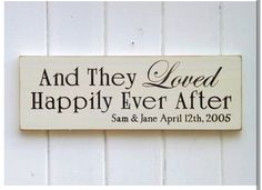 And they loved happily ever after...