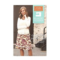 Designed by Joel Dewberry and Eclectic Modern Sewing Patterns, the Cascading Ruffle Skirt will make a flirtatiously feminine statement with it's flattering A-line shape, adorened with a cascading ruffle and knee-skimming flounced hem.  Sizes range from Women's 4-16.<br><a href=https://s3.amazonaws.com/fabric-pdf/0310192_back.pdf>Click here for pattern back.</a>