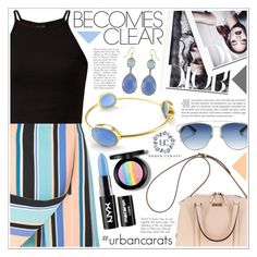 """""""All Becomes Clear"""" by becky12 ❤ liked on Polyvore featuring Opening Ceremony, Kate Spade, Joie, Christian Dior, NYX and urbancarats"""