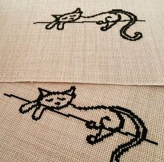 Our cats are still sleeping hard, good morning everyone from us 🐾🐾 good Friday Umeda Cute Cross Stitch, Cross Stitch Rose, Modern Cross Stitch, Cross Stitch Designs, Cross Stitch Patterns, Ribbon Embroidery, Cross Stitch Embroidery, Embroidery Patterns, Running Stitch