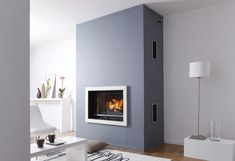 Page non trouvée - Cheminees-philippe Wood Burning Stove Insert, Modern Wood Burning Stoves, Wood Burning Fireplace Inserts, Log Burning Stoves, Open Fireplace, Fireplace Surrounds, Fireplace Design, Fireplace Wall, Electric Fireplace Tv Stand