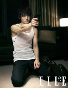 kim jae joong --- elle