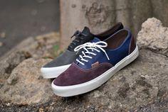 e4b33b88ba Vans Era 59 California - Moroccan Blue - Sneakers.fr