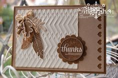 Autumn is here..... (Stampin'spiration)